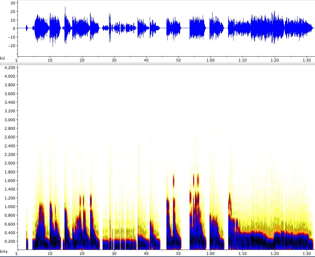 Spectrogram of Interactive Example